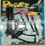 2012 best Christmas present with most fashion design plastic toy machine guns