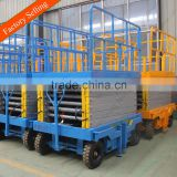 Indoor mobile electric scissor lift elevator used                                                                                                         Supplier's Choice