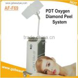 Oxygen Jet Peel And Pdt Led Intraceuticals Oxygen Peeling Machine For Face Facial Machine With Diamond Peel Oxygen Facial Equipment