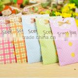 Best printing nice design many scents to choose 20g envelope sachet