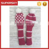 C1677 hand knitted golf headcover
