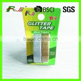 Customized offer printing acrylic DIY glitter tape for handcraft                                                                         Quality Choice