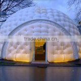High quality inflatable white dome tent, inflatable durable advertising dome tent, inflatable party tent for sale