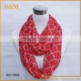 Popular design infinity scarf baby carseat canopy breast feeding cover Nursing scarf