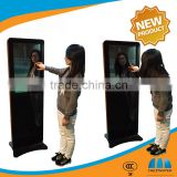 42 Inch Stand Alone Interactive Magic Mirror LCD Advertising Digital Signage Video Display With Touch Screen