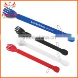 Cheap New Design Plastic Back Scratcher With Shoe Horn With Chain