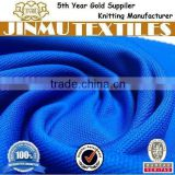JINMU textiles Blue Solid 100% Polyeseter Bird Eye Mesh Fabric For Cars' Seat