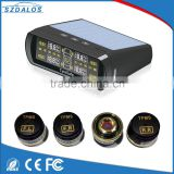 TPMS Solar Power Internal Sensor LCD Digital Tire Pressure Monitoring System Wireless Waterproof