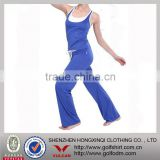 fitness Modal dri fit blue Yoga wear suits