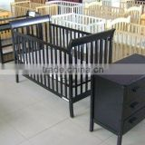 Solid Pine Wood Baby Cot Bed Prices Set