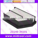 High quality air filter cabinfilter for 23140-34101 2314034101