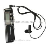 Built-in speaker VOR digital voice recorder rechargeable AAA battery 8gb mini audio dictaphone