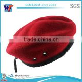 wool material custom cheap army children red beret cap                                                                         Quality Choice