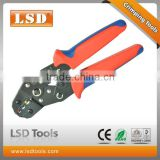 DN-02C European-style 0.25-2.5mm2 2 wire crimper 4-14AWG insulated connectors electrical cable lug crimping tool