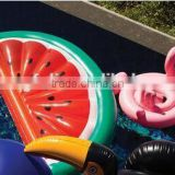 high quality safety large inflatable watermelon float funny water melon pool float plastic fruit life raft