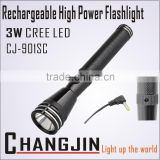 Manufacturing Rechargeable Torch Led Tactical Flashlight Led Safety Waterproofing Torches
