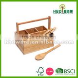 Bamboo storage caddy, bamboo caddy for selling , bamboo shower caddy