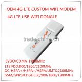 Unlocked New Original OEM 150Mbps 4G LTE Customized USB WIFI Modem and 4G LTE WIFI Dongle,Same as HUAWEI E8372