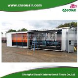 Nitrogen/ammonia/argon gas compressor 30-1600Nm3/hr At1-250bar,oil free reciprocating fueling cylinder/power plant/food industry