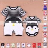 Body Romper baby clothes piece dress clothing triangular short sleeved summer romper for new born