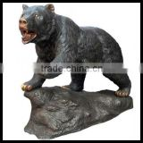 Bronze,Brass,Cast Iron Metal Bear Animal Statues