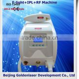 2.6MHZ 2013 Exporter E-light+IPL+RF Machine Elite Epilation Acne Removal Machine Weight Loss Beauty Salon Equipment Bed