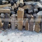 Chinese nature granite black &Grey basalt,black &grey basalt cubes,black &grey basalt tiles,steps,risers