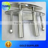 Boat accessories stainless steel pull-up cleat for boat