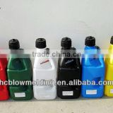 OEM blow molding 1 litre plastic bottle for chemical liquid 1 Litre Plastic Gold Oil Bottle