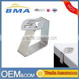 Maple Leaf Shape Hollow Out Stainless Steel Table Cloth Clip