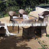 Popular new Outdoor Buffet Table and Chairs