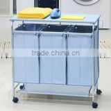 Wheeled Style and Hotel Usage laundry trolley laundry hamper with ironing board