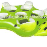 Inflatable Pool Lounge 5 Person Raft Giant Island