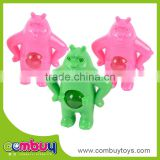 Hot sale cheap small bulk set plastic bear toy glass marbles