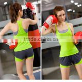 New product 2016 hot sale high quality one piece lady sports jumpsuits yoga wear for wholesales