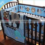 baby crib embroidery bedding set kids cartoon bedding set