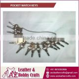 Durable Quality and High Grade Pocket Watch Keys for Factory use