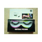 Long Blink Silk Criss Cross False Lashes , Diamond Half Fake Lashes