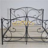 Queen Size Wrought Iron Bed BED-T-003