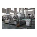 1000-10000BPH Monoblock Liquid Filling Machine / Water Filling Equipment