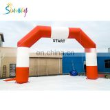 Hot sale inflatable advertising arch, inflatable finish line for events