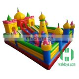 Amusement park trains for sale, kids toys amusement park sale, inflatable bouncy castle amusement park
