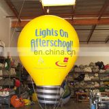 Light Bulb Inflatable Balloon for event decoration