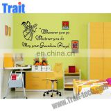 low price 60x90cm Cute Angel cartoon character Removable DIY PVC Wall Stickers for bedroom kids room