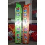 Inflatable light column,inflatable Totem, inflatable light tube