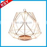 Latest New Design Volume Produce Garden Colorful Metal Lantern Star Shaped Candle Holders