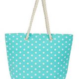 large water resistant canvas beach tote bag from factory directly