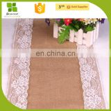 linen dinner table runner for wedding banquet decoration
