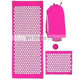 Family easily cleaned fabric REACH disinfection and sterilization massage acupressure mat and pillow set