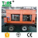 Landtop three phase silent diesel generator with trailer
